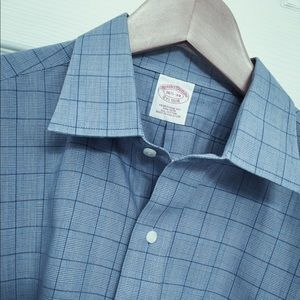 Brooks Brothers Prince of Wales Check Shirt